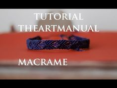 X Patterned Square Knot Bracelet with Beads and Button clasp - YouTube