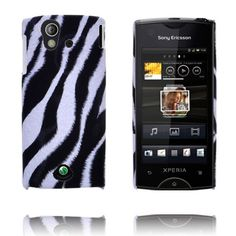Safari Fashion (Diagonal Zebra) Sony Ericsson Xperia Ray Cover