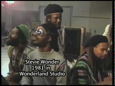 Stevie Wonder in studio with Third World Band - Try Jah Love