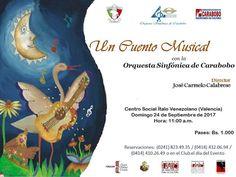 """Secretaría de Cultura invita a concierto """"Un Cuento Musical"""""""