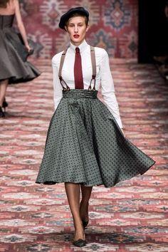 Fashion Shows - Lena Hoschek Berlin Herbst/Winter 2019 - Kollektion Boho Fashion, Fashion Show, Fashion Dresses, Vintage Fashion, Womens Fashion, Cheap Fashion, Hijab Fashion, Dandy Look, Dandy Style