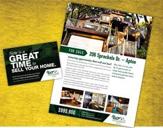 design 2 Real estate or any corporate flyer concept by graphixboy