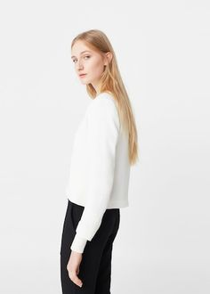 White blazer   MANGO
