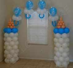 10 Perfect Themes for a Baby Shower – Voyage Afield Angel Baby Shower, Teddy Bear Baby Shower, Cheap Baby Shower, Shower Bebe, Baby Shower Signs, Baby Boy Shower, Baby Shower Balloon Decorations, Baby Balloon, Baby Shower Balloons