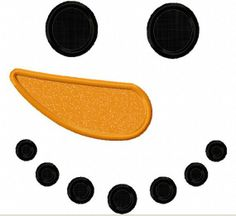 Image result for Free Printable Snowman Face Template Pattern