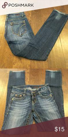 VIGOSS STRAIGHT LEG Dark wash, straight leg jeans Vigoss Jeans Straight Leg