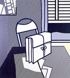 Still life with dossier - Roy Lichtenstein