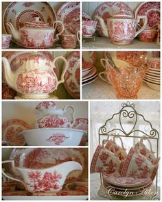 Red Transferware actually ,this is for nola.lol