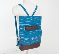 1192 Cali Foldover Backpack PDF Pattern - ithinksew.com