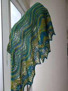 Ravelry: Ocean Dancer Shawl E223 pattern by Iris Schreier