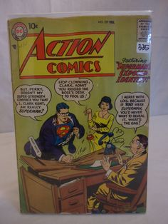 Vintage DC Action Comics No.237 comic book currently for sale in our HUGE comic book auction! Check it out at https://www.proxibid.com/asp/catalog.asp?aid=109267