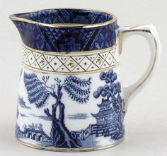 Booths Real Old Willow Creamer or Jug, 1930's