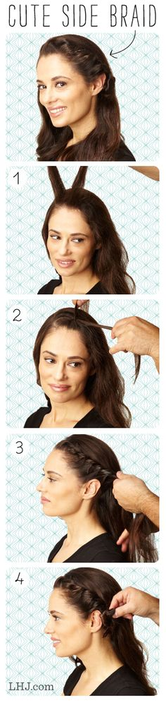 Hair How To: Wavy Side Braid