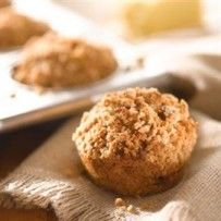 Peanut Butter Banana Flax Seed Muffins | Recipes by Amy Tobin