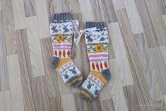 DIY: A-murun pupusukat - Kun äiti kelaa Diy And Crafts, Socks, Patterns, Knitting, Color, Block Prints, Tricot, Breien, Colour