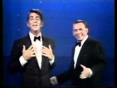 Frank Sinatra and Dean Martin funny live medley - YouTube