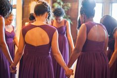Prayer for the bride before she gets married. <3 From Meya and Justin's luxury wedding at Scarritt Bennett, Hilton Hotel Nashville TN. Photographer: Krista Lee, Krista Lee Photography Planner: Angela Proffitt #scarrittbennett #hiltonhotelnashville #wedding #bride #scarrittbennettwedding #nashvillewedding #plum #plumwedding #purplewedding #purple