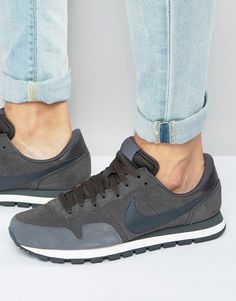low priced 55203 4269e Nike   Nike Air Pegasus 83 Ltr Trainers In Grey 827922-201 Chaussures Air  Max