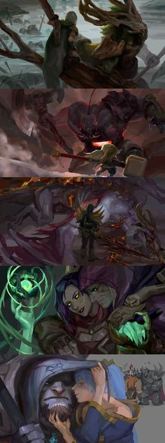 [LoL] champs compilation 9 by zuqling on DeviantArt