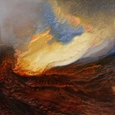 "Saatchi Art Artist Lia Melia; Painting, ""The Cloths of Heaven"" #art"