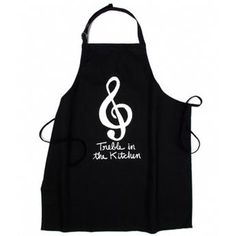 This whimsical 'Treble in the Kitchen' apron from the Met Opera Shop is ideal for when you're whipping up a symphony in the kitchen, and makes a great gift for music lovers.