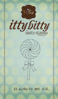 SUCKS to get old -{ippity} itty bitty from unity stamp company - artist: joslyn nielson