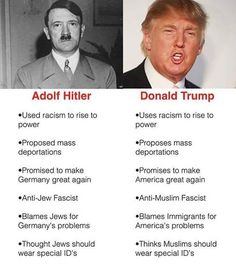 This is one word: scary! People need to wake up. He is a horrible person and should not be the president of this great country.