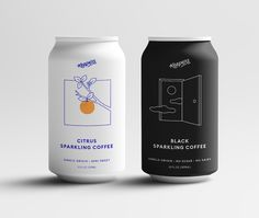 This Brooklyn Made Sparkling Citrus Coffee Is Your Summer Seltzer-Cold Brew Combo Food Packaging Design, Coffee Packaging, Beverage Packaging, Bottle Packaging, Packaging Design Inspiration, Brand Packaging, Chocolate Packaging, Design Food, Web Design
