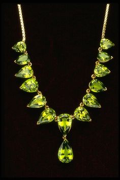 Tsavorite Necklace (G9000) from the National Gem Collection
