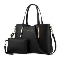 Flying birds women handbag 2pcs set women bags leather shoulder bags Fashion Tote ladies wallet clutch mother bag litchi bales