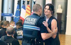 A paraitre dans leJDD Sandra Bertin à la mairie de Nice, vendredi. (Eric Dessons/JDD) EXCLUSIF - En poste le soir du 14 juillet, Sandra Bertin, chef du Centre de supervision urbain (CSU) de Nice et secrétaire générale du Syndicat autonome de la Fonction...