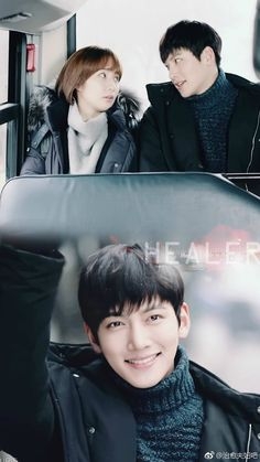 Ji Chang Wook in _Healer_ 2014 Asian Actors, Korean Actors, Korean Dramas, Healer Kdrama, Kim Moon, Ji Chang Wook Healer, Drama Fever, Park Min Young, Korean Words