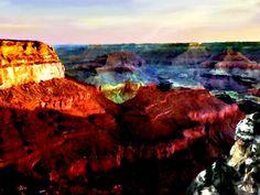 Grand Canyon National Park Sunrise  by Bob and Nadine Johnston #grand #canyon #sunrise
