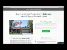 We're offering steep discounts on homes for sale in Colorado. Our Colorado investment properties are priced 20-40% below market value because we need to sell them fast. If you're a cash buyer, then you gotta be on our wholesale Colorado homes buyers list.