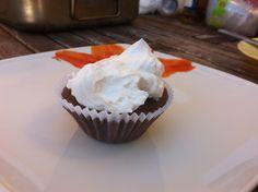 Cupcake vegan de chocolate e natas de soja
