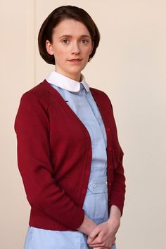 BBC One - Call the Midwife - Barbara Gilbert (Charlotte Ritchie)....Barbara Gilbert is in her early twenties and has recently qualified as a nurse and midwife when she arrives at Nonnatus at the start of the 1960s.