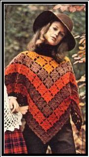 AUTUMN MOTIF PONCHO - Groovy Crochet