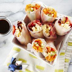 Vegetable or Fruit Spring Rolls