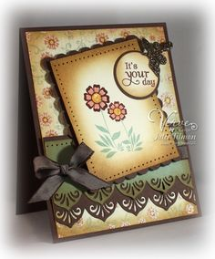 I wish I can make cards like this!