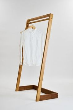 Simple clothing rack