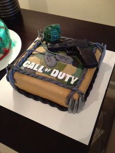 Call Of Duty Cake For A 13 Year Old Hunting Birthday Cakes 3rd