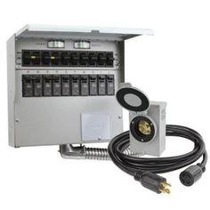 Wiring Diagram For Interlock Transfer Switch Electrical Upgrade - Portable generator transfer switch wiring diagram