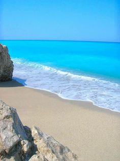 GREECE CHANNEL | The amazing turquoise waters of #Lefkada island ~ #Greece http://www.greece-channel.com