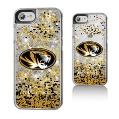 Missouri Tigers Gold Glitter iPhone 7 Phone Case - $24.99