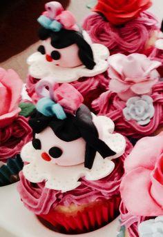 Cup cakes de muñeca