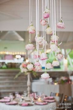 Wedding Decoration, maybe with purple tulips