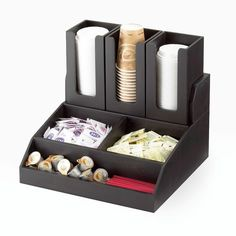 The Top Tier Can Be Used For Cups Lid And More Conveniently