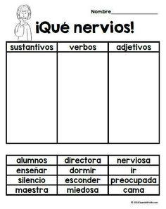 Que nervios! (First