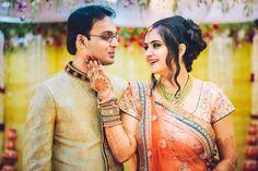 Photographer - Wedding Couple Click Photos, Hindu Culture, Yellow Color, Groom Sherwani, Sangeet, Couple Photographs pictures.