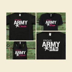 001d12da These Proud Army Family Shirts are great for graduations and deployment  parties! Get them and